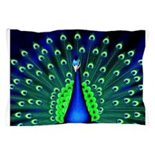 Pretty Peacock Pillow Case