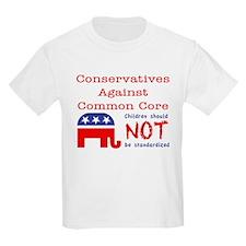 Conservatives Against CCSS T-Shirt