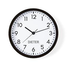 Dieter Newsroom Wall Clock