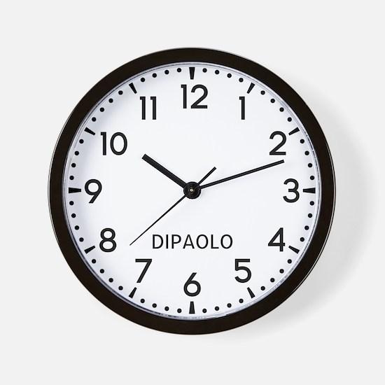 Dipaolo Newsroom Wall Clock