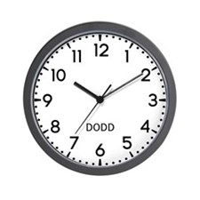 Dodd Newsroom Wall Clock
