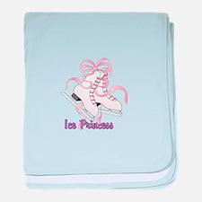 Ice Princess baby blanket