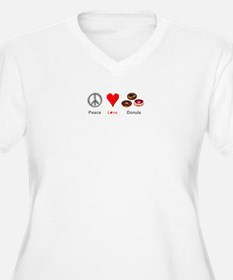 Peace Love Donuts T-Shirt