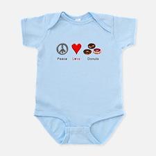 Peace Love Donuts Infant Bodysuit