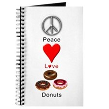 Peace Love Donuts Journal