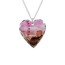 London, pink effect Necklace