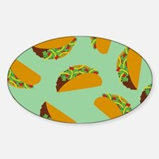 Taco Pattern Decal