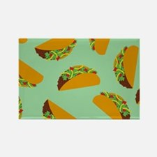 Taco Pattern Magnets