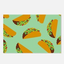 Taco Pattern Postcards (Package of 8)