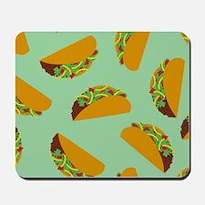 Taco Pattern Mousepad