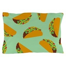 Taco Pattern Pillow Case