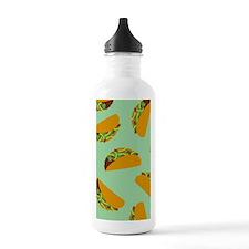 Taco Pattern Water Bottle