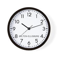 Erlton-Ellisburg Newsroom Wall Clock