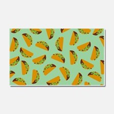 Taco Pattern Car Magnet 20 x 12