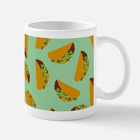 Taco Pattern Mugs