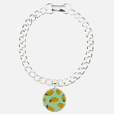 Taco Pattern Bracelet