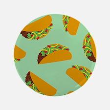 "Taco Pattern 3.5"" Button"