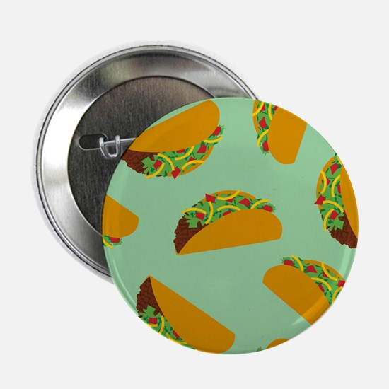 "Taco Pattern 2.25"" Button"