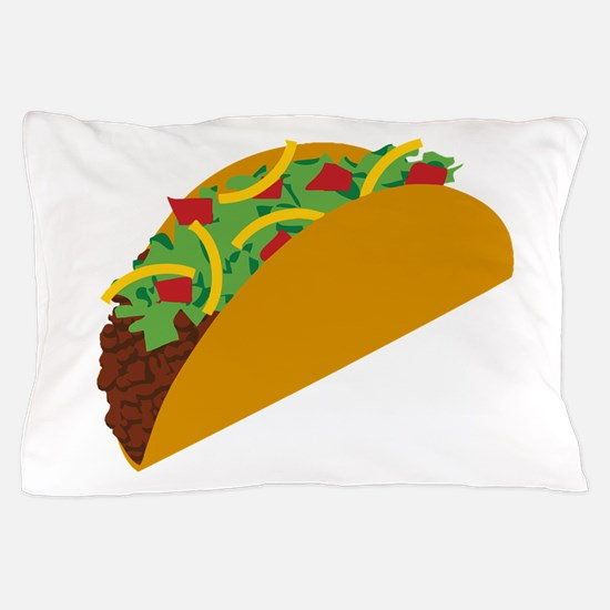 Taco Graphic Pillow Case