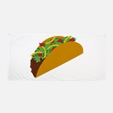 Taco Graphic Beach Towel