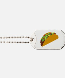Taco Graphic Dog Tags