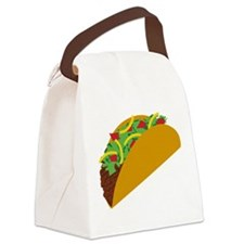 Taco Graphic Canvas Lunch Bag