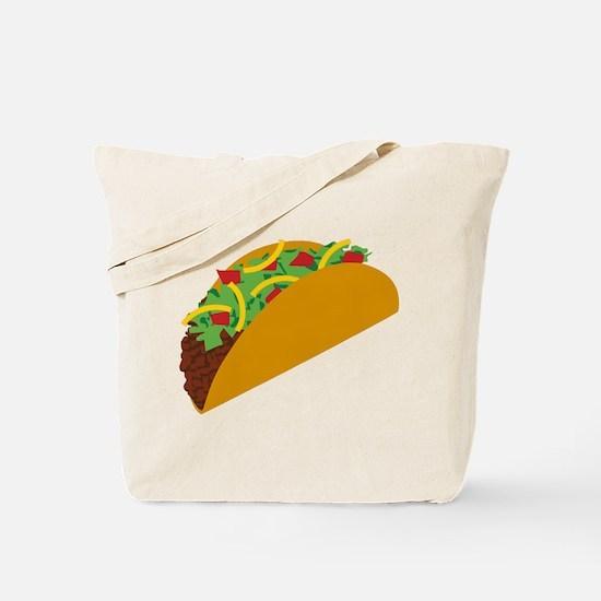 Taco Graphic Tote Bag