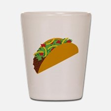 Taco Graphic Shot Glass