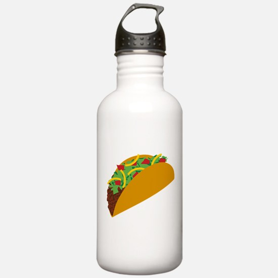 Taco Graphic Sports Water Bottle