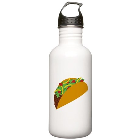 Taco Graphic Stainless Water Bottle 1.0L