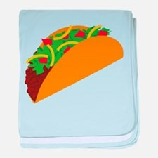 Taco Graphic baby blanket