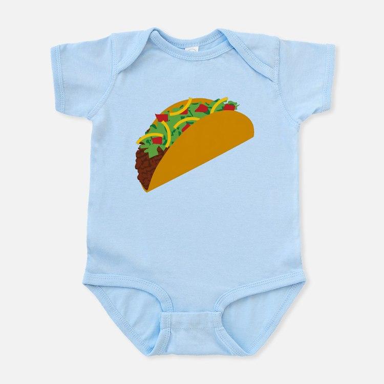 Taco Graphic Onesie