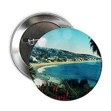 """laguna Beach,aqua lights 2.25"""" Button (100 pack)"""
