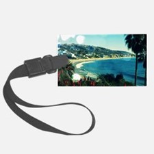 laguna Beach,aqua lights Luggage Tag