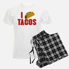 I Love Tacos pajamas