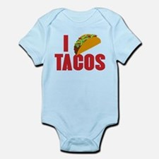 I Love Tacos Infant Bodysuit