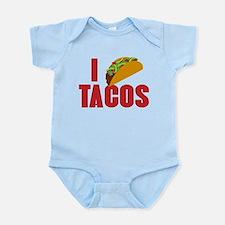 I Love Tacos Onesie