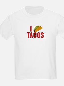 I Love Tacos T-Shirt