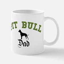 Pit Bull Dad 3 Mug