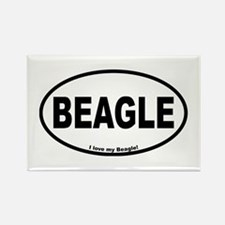 Beagle Designs Rectangle Magnet