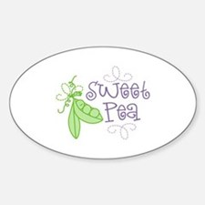 Sweet Pea Decal