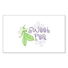 Sweet Pea Bumper Stickers