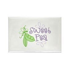 Sweet Pea Magnets