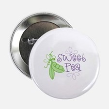"Sweet Pea 2.25"" Button"