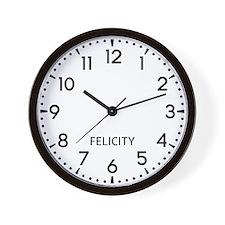 Felicity Newsroom Wall Clock