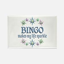 Bingo Sparkles Rectangle Magnet