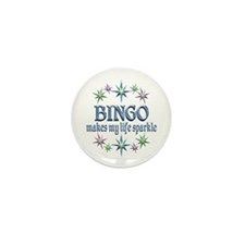 Bingo Sparkles Mini Button (10 pack)