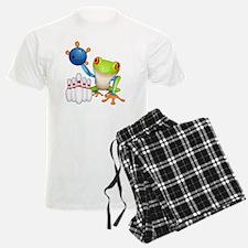 Tree Bowling Frog  Pajamas