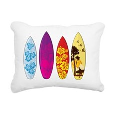 Surfboards Rectangular Canvas Pillow