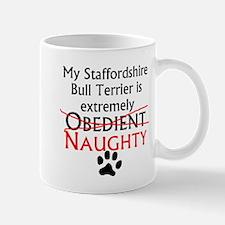 Naughty Staffordshire Bull Terrier Mugs